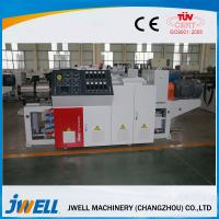 Quality 3 Phases 380V Conical WPC Extrusion Line Three Roller Calendering Equipment for sale
