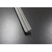 Gray Long Side EPDM Rubber Extrusion Embedded , Window Weather Stripping