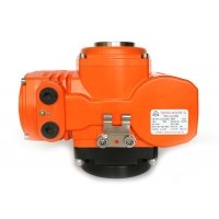 Buy cheap ExⅡCT4 200Nm Explosion Proof Quarter Turn Electric Actuator from wholesalers