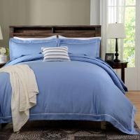 Buy cheap Blue Dyed Solid Bedding Sets For Hotel And Beauty Salon Hypoallergenic from wholesalers