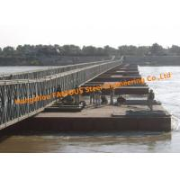 Quality Modular Steel Bridge Military Emergency Pontoon Floating Bridge For Ferry Raft Anchoring Rafts for sale
