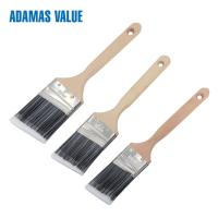Quality Paint brush long handles,angled paint brush,paint brush filament with long wooden handle for sale