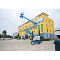 Quality Skylift Self Propelled Lift 18m Construction Equipment Fault Diagnosis System Equipped for sale