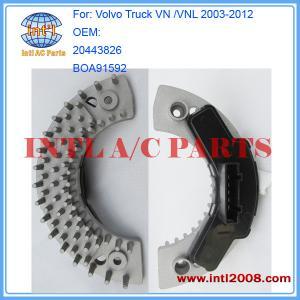 Quality 20443826 BOA91592 blower Motor Resistor/fan Regulator Control for Volvo Truck VN /VNL 2003 for sale