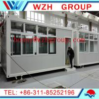 Quality prefab container house as shop for sale