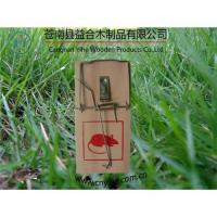 Quality wooden snap trap/mouse trap for sale
