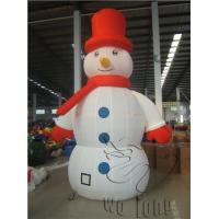 Quality Commercial 2014 christmas decorations snow globe inflatable inflatable christmas snowman for sale