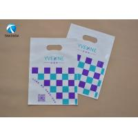 China Eco - Friendly  Die Cut PE Garment Polythene Clothes Bags Customized on sale