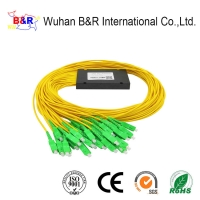 Quality FTTH 2x32 ABS PLC Splitter With SC Connector for sale