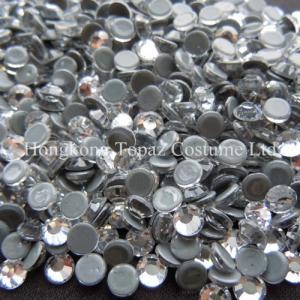 China New strong grey glue heat transfer rhinestone hot fix strass cristal on sale