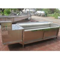 Quality Durable Potato Washing Machine For Industry Low Breaking Rate Easy To Operate for sale
