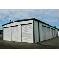 Buy cheap Q235 Square Beam Prefab Metal Garage Kits Hot Dipped Galvanized from wholesalers