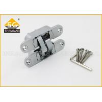 Quality Furniture Hardware 3D Concealed Invisible Door Hinges For Internal Wood Door for sale