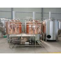 Quality 1000 liter beer brewing equipment, red copper brewhouse, beer fermenter for sale