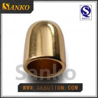 Quality 2016 new design Eco-friendly  high polished gold ending for the garments for sale