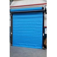 Quality 0.5-1.5m/S  Cold Storage Roll Up Doors , Freezer High Speed Doors  -22 Degrees for sale