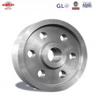 Quality Ship Crane Parts Cast Alloy Steel Pulley / Single Sheave Pulley OEM for sale