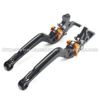 Quality Adjustable Long Folding Brake Clutch Levers , Brake And Clutch Levers For Motorcycles for sale