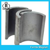 Quality Industrial Ferrite Arc Magnet For Treadmill Motor / Water Pumps / Dc Motor for sale