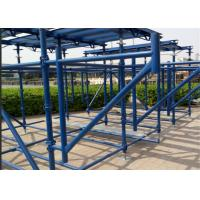 China Durable Cuplock Scaffolding System Cuplock Shuttering System High Strength on sale
