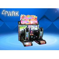 Quality Double Seats 250W Racing Game Machine With 32 Inch Screen for sale