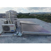 Buy cheap Household Solar Water Heater Evacuated Tube Collector 25-50 T / 58X1800 from wholesalers