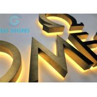 Quality Illumination Channel Signs Custom Led Letters 3D Logo Signage Acrylic Backlit IP67 for sale