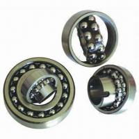 Quality Double-row Self-aligning Ball Bearing with Cylindrical and Capered Bores for sale