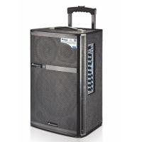 Mic Priority Outdoor Portable Pa Speaker System / Rechargeable Trolley Speaker