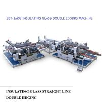 Quality Insulating Glass Straight Line Glass Double Edger Machine High Performance,Straight Line Glass Double Edger Machine for sale