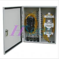 Quality 48Port Outdoor Fiber Optic Distribution Box Wall Mount for sale