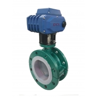 Quality Fast Speed 1/4 Turn 400Nm Butterfly Valve Actuator for sale