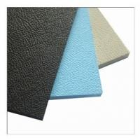 Quality Extruded PP plastic sheet(emdossed surface) for sale