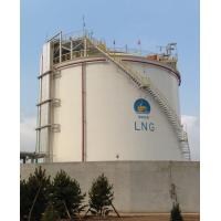 Quality Cryogenic Engineering LNG Liquefaction Plant Single Containment Tank for sale