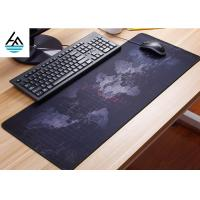 Quality Rubber Large Computer Mouse Pad Non - Slip Waterproof Keyboard Mouse Mat for sale