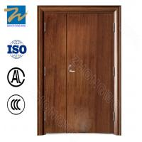 Heat Transfer Printing Insulated Fire Door Single / Double Shutter Surface Finishing