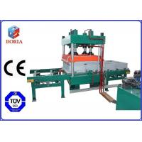 Quality Four Cavities Pneumatic Vulcanizing Machine Electric Heating For Rubber Tile for sale