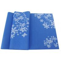 Quality ECO tpe yoga mat, 4-10mm for different trainer use flower pattern for sale
