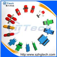 Quality Green Color Duplex SC APC Fiber Optic Adapter Singlemode for sale