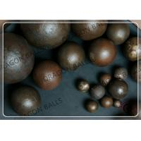 Quality Cement Grinding Media Steel Balls High Reliability With CE / ISO Certification for sale
