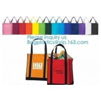 Quality Wholesale Recycle Hand Bag Non Woven Bag, Custom Colorful Tote Shopping Non Woven Carrier Bag,Tote Recycle Non Woven Bag for sale