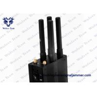 Quality Selectable Handheld All GSM CDMA 3G 4G LTE Mobile Phone Signal Jammer for sale