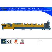 Quality Pre - Punching Steel Roll Forming Machine Automatic Hydraulic System for sale