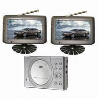 Buy cheap 7-inch Dual-screen DVD Player with TV Tuner, Suitable for Car from wholesalers
