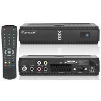 China Diseqc 1.0 / 1.1 Globo X80 HD PVR Satellite Receiver DVB-S With CONAX CA, RCA Stereo Audio on sale