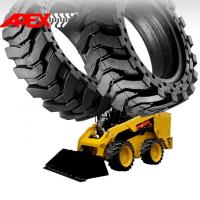 China APEX Skid Loader Solid Tire for 12, 15, 16, 18, 20, 24, 25 inch Solid Cushion Tyre on sale