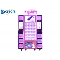 Quality Commercial Contemporary  Lipstick Vending Machine With Coin Change Function for sale