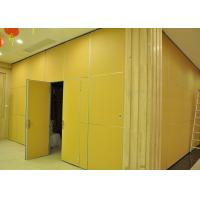 Quality Moving Vinyl Metal Partition Walls Fabric Training Room Folding Partition for sale