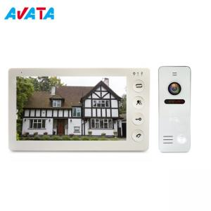 Quality Wide Angle 1000tvl Clear Night Vision 7 Inch Color Video Door Phone Wired Video Camera Sensor Doorbell for sale