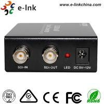 Quality SDI to AV Scaler CCTV Fiber Optic Converter 1 Port BNC SD / HD / 3G - SDI + 3 port CVBS 3G for sale